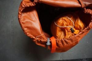 Big Agnes Tent in Osprey Backpack