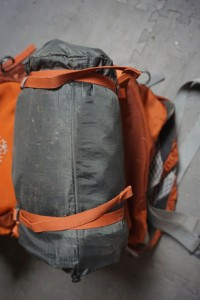 ThermaRest Sleeping Pad on Osprey Backpack